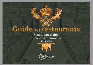 Guia de los Restaurantes 2019-2020