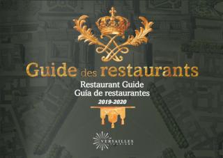 Restaurant Guide 2019-2020