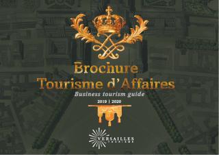 Folleto Turismo de Negocios 2019-2020