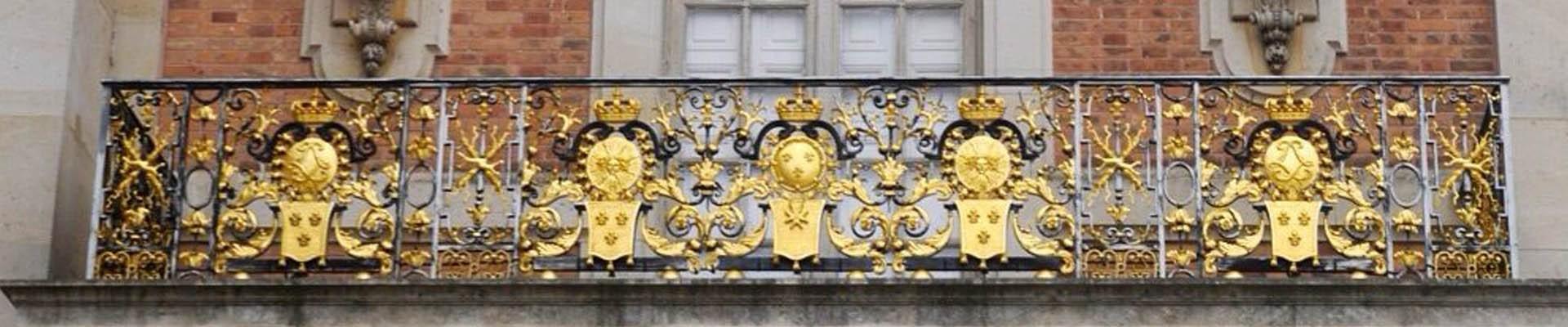 Balcon de Louis XIV, Château de Versailles