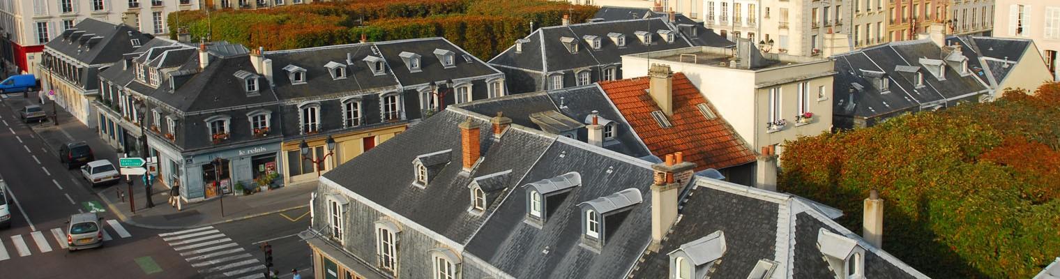 St-Louis squares in Versailles