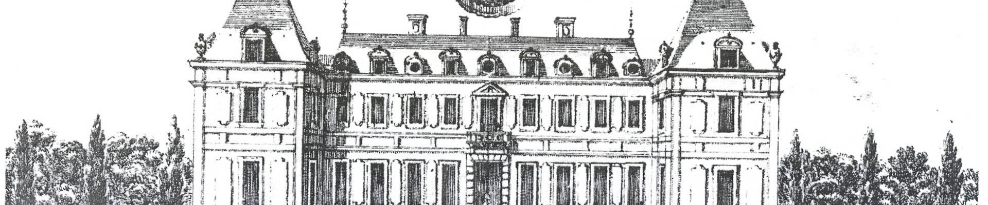 Elevación del castillo de Luis XIII