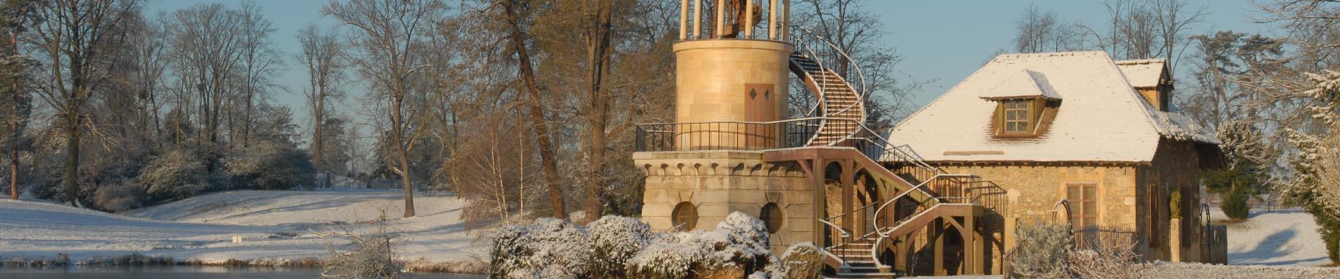 Hameau de la Reine en hiver