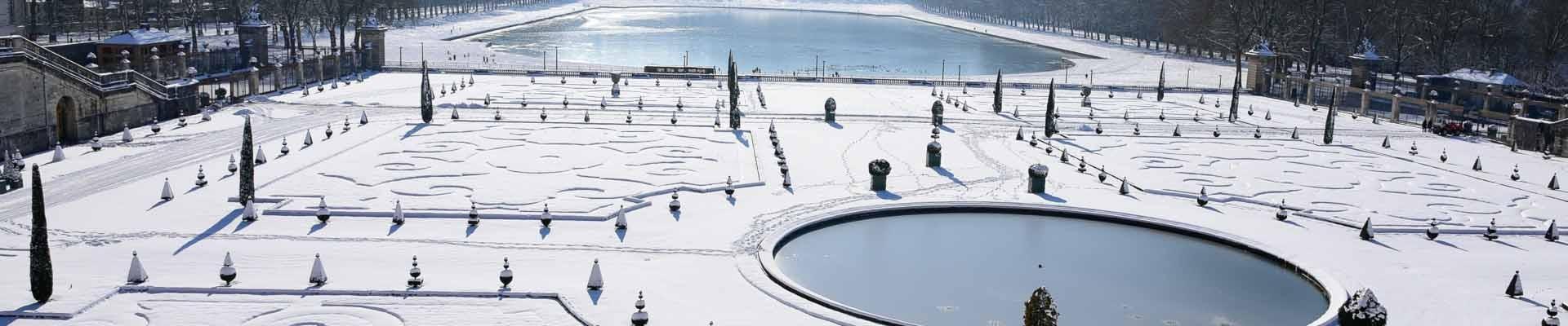 Versailles in winter