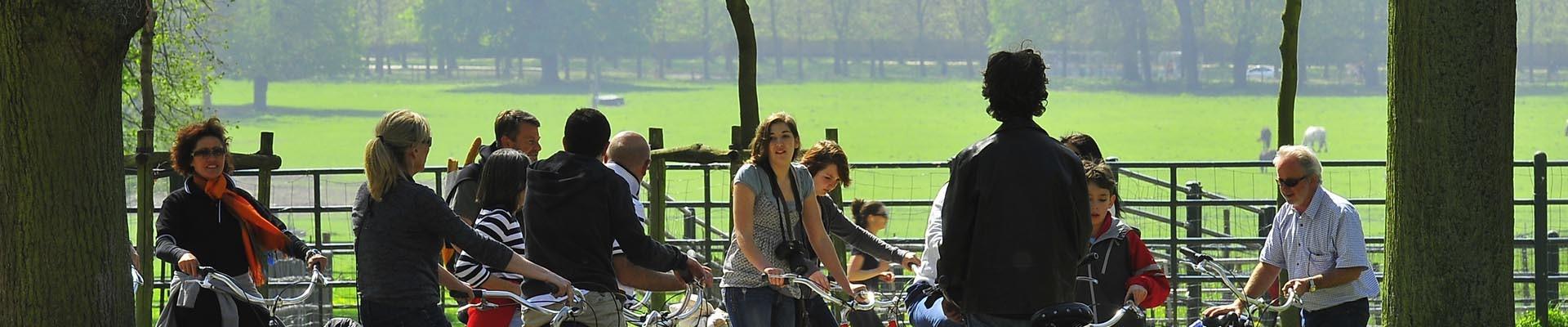 Balade en vélos dans le parc du Château de Versailles