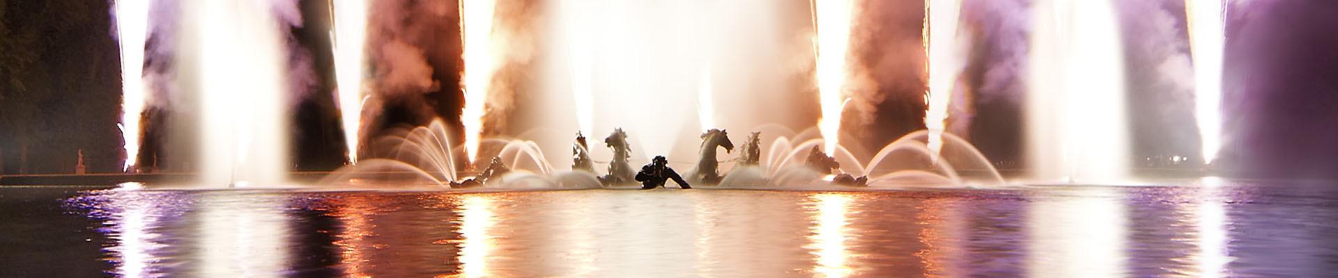 Los espectáculos del palacio de Versalles