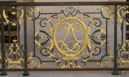 Les ferronneries à Versailles