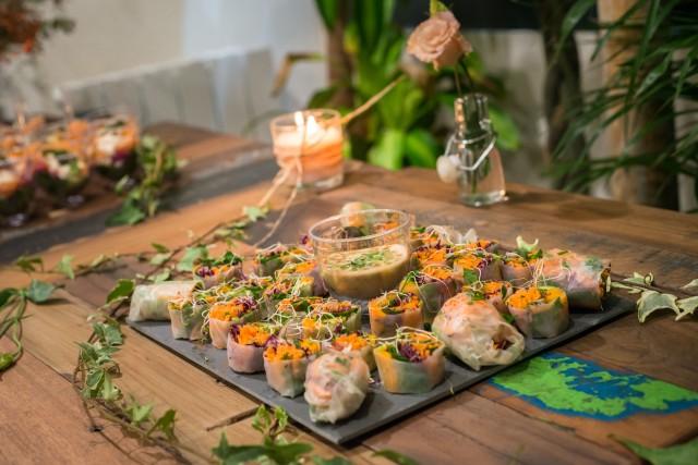 Vegetarian and organic cuisine