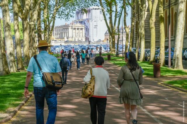 Las caminatas en Versalles
