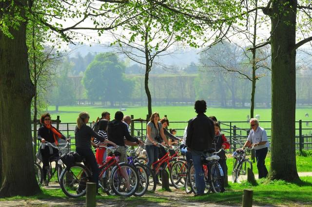 Versailles côté nature en groupe