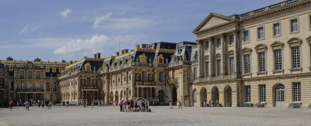 Versailles en groupe