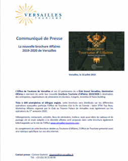 Brochure Affaire 2019/2020