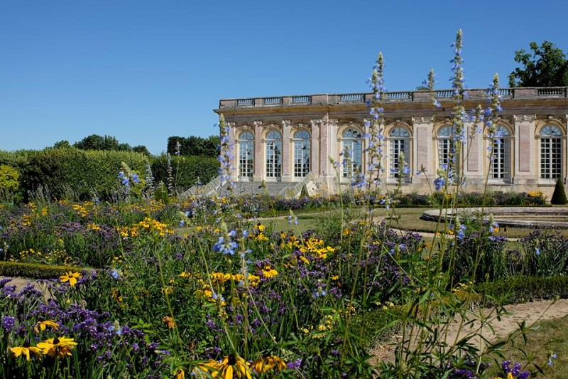 The gardens of the Grand Trianon in bloom