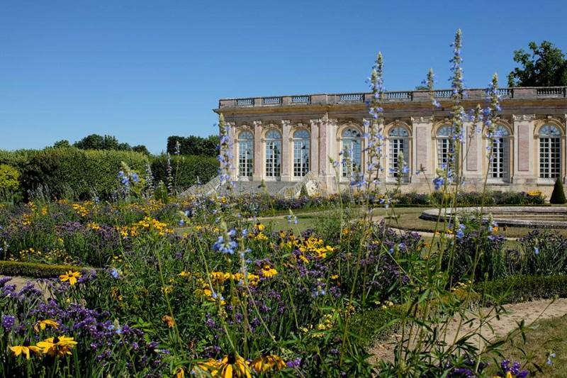 Los jardines del Grand Trianon en flor