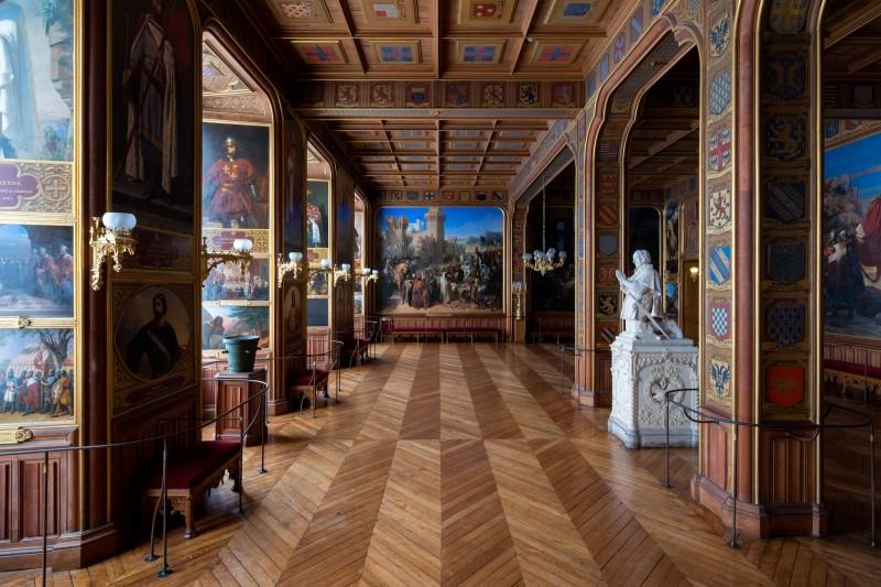 salle des croisades