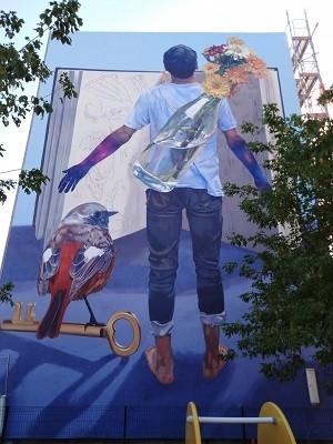 Street Art grandeur murale à Versailles