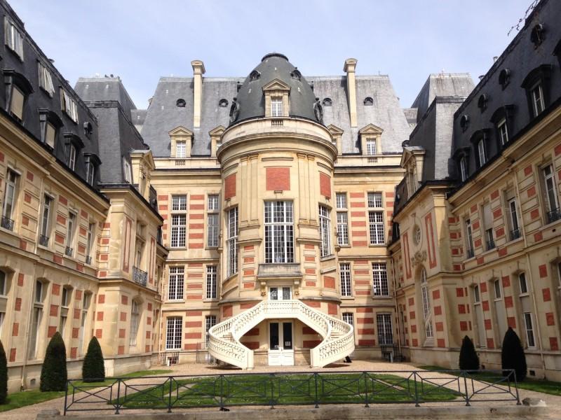 Extérieur de l'Hôtel de ville de Versailles