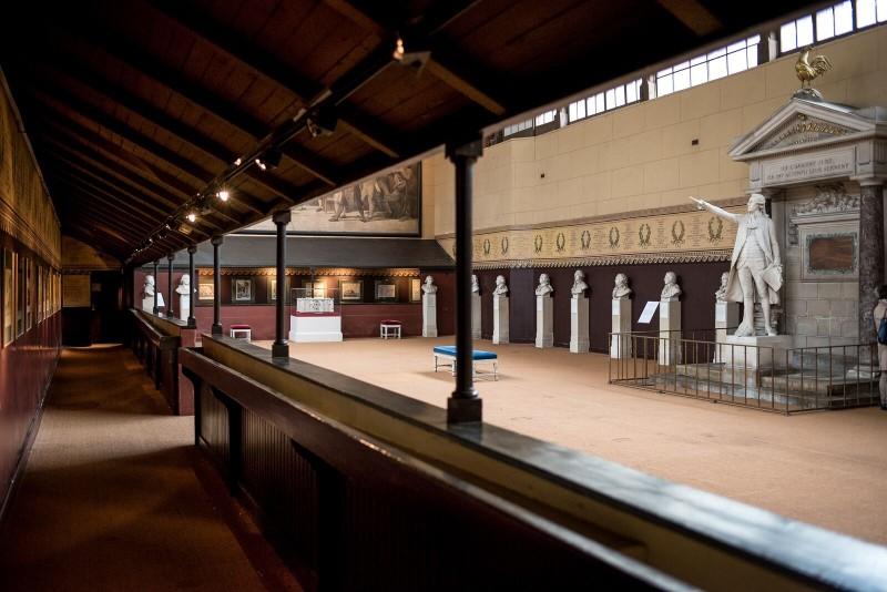 La salle du Jeu de Paume à Versailles où fut prononcé le Serment qui mena à la Révolution française
