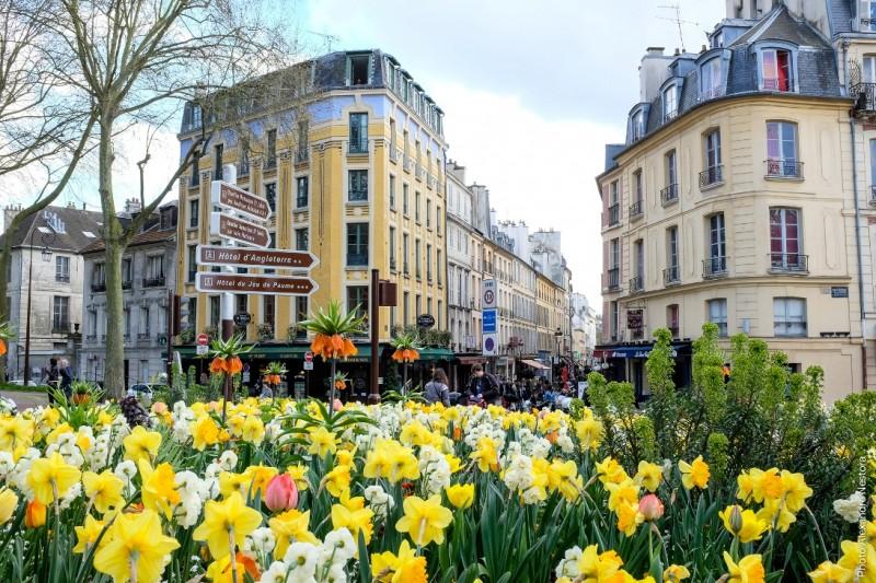 Satory Street in Versailles