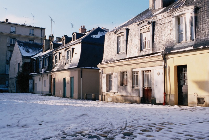 Houses in the Saint-Louis area in Versailles