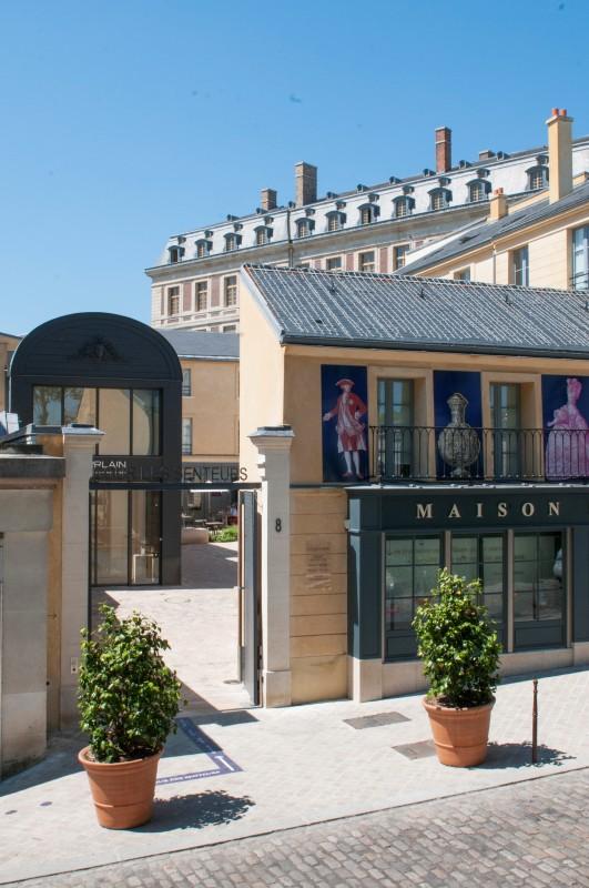 Corte de los olores en Versalles