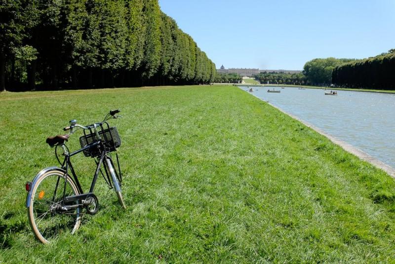 Balade à vélo dans le parc de Versailles