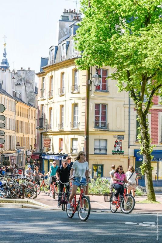 Vélo rue Satory