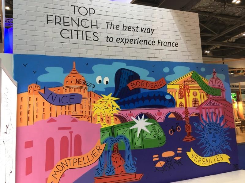 Affiche de Top French Cities au World Travel Market 2017