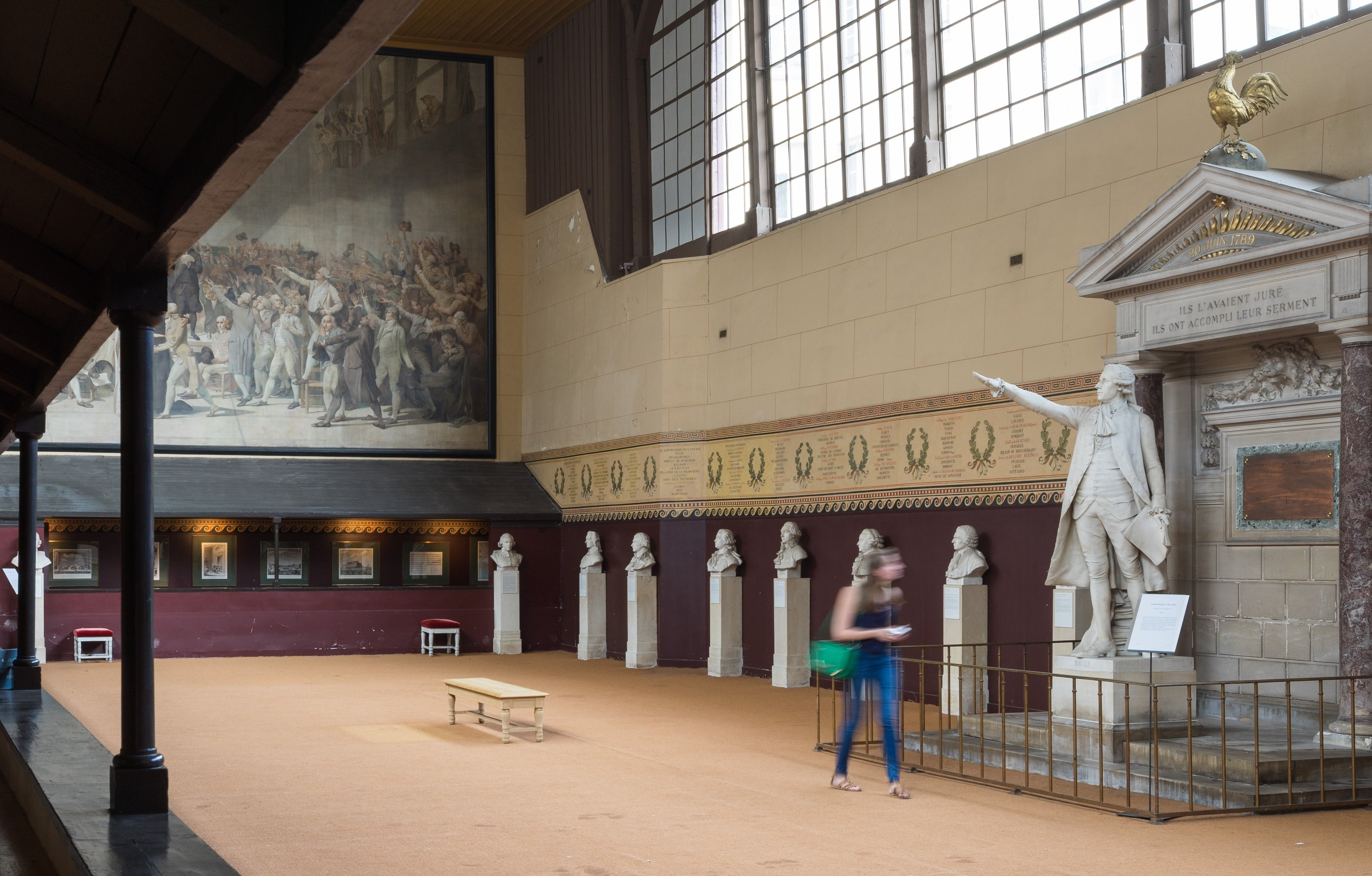 The Revolution And The Royal Tennis Court Guided Tour In French