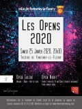 Affiche Opens 2020