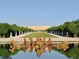 château de versailles bassin d'appolon parc yvelines france