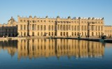 Le Château de Versailles face au Parterre d'eau