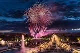 Aguas Musicales Nocturnas -  fuegos artificiales - jardines - Palacio de versalles