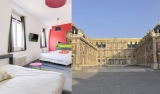 Angleterre's hotel + palace - versailles - family stay