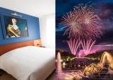 Hôtel des Lys - versailles - fountains night show - garden - stay