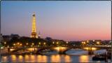 Paris le soir - balade - Versailles - peugeot 504 - French vintage shuttle -  Pont Alexdandre III