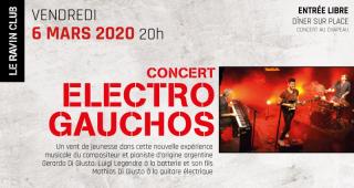 Electro Gauchos au Ravin Bleu Versailles