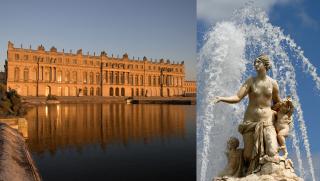 Château de Versailles et le bassin de Latone