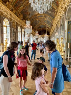 Versailles en famille