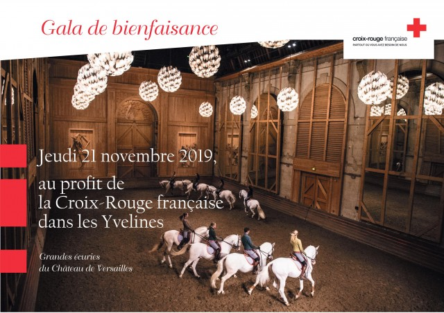 Le gala aux Ecuries du Château de Versailles