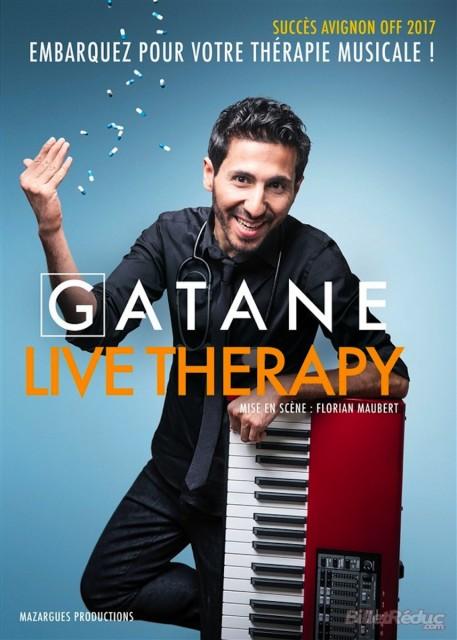 Affiche GATANE, Live Therapy