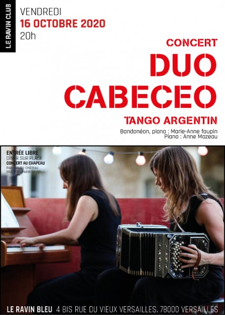 Affiche Concert : Duo Cabeceo