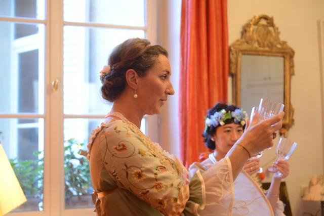 Marie-Antoinette workshop in English