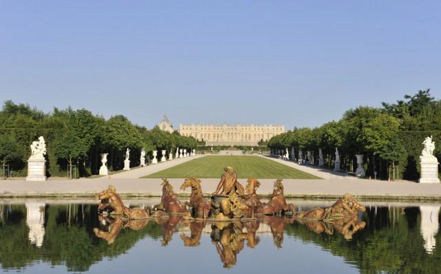 Jardins à la française du Château de Versailles