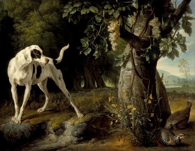 desportes-landscape-with-a-dog-and-partridges-lacma-ac1993-39-1-28170