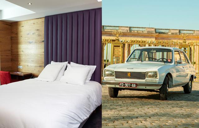 Jeu de Paume's hotel and French Vintage Shutttle - Versailles - Paris - romantic