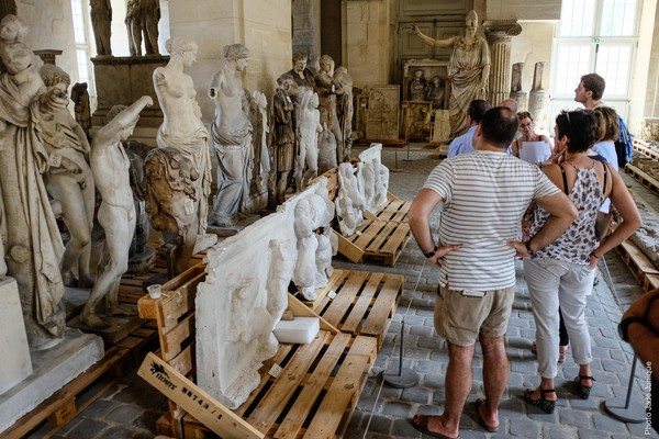La galerie des Sculptures et des Moulages