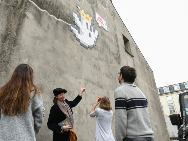 Visite Guidée Street-Art à Versailles Cyclop Invaders
