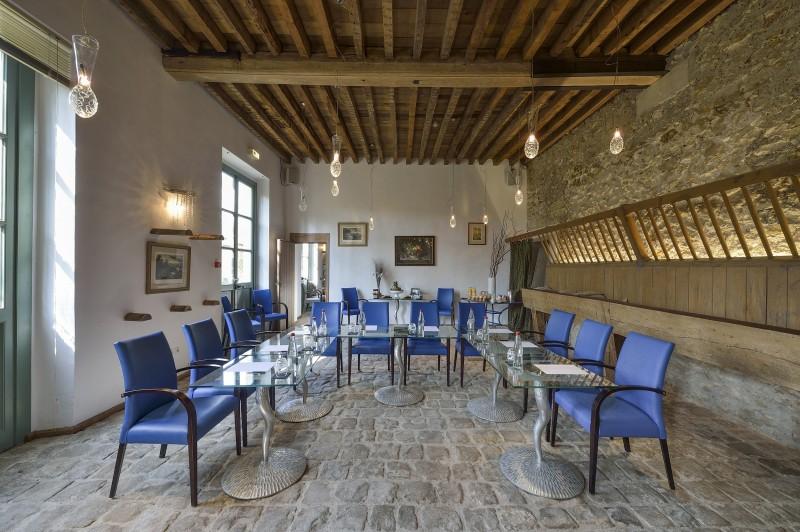Salle du restaurant de la Petite Venise au château de Versailles