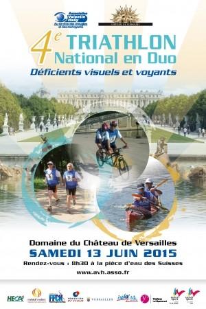 Triatlón en el corazón del castillo de Versalles